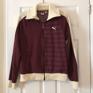 Puma Woman's Track Jacket - size large